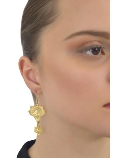 Labalaba Küpe Altın